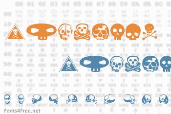 SkullBearer Font