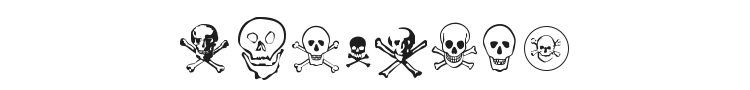 Skullz Font Preview