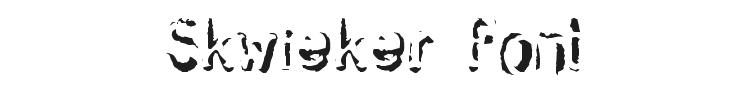 Skwieker Font Preview