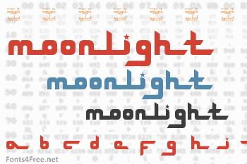 SL Drops Of Moonlight Font