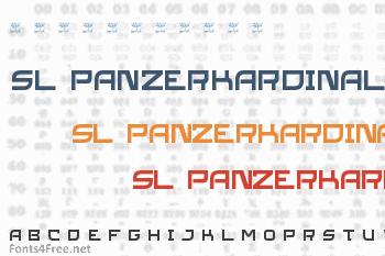 SL Panzerkardinal Font
