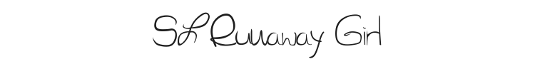 SL Runaway Girl Font Preview