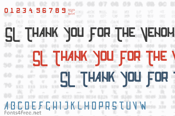 SL Thank You For The Venom Font