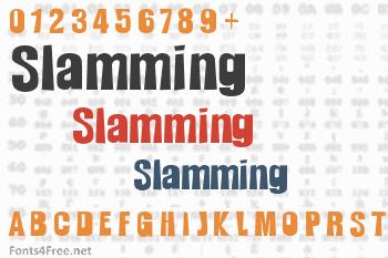 Slamming Font