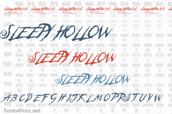 Sleepy Hollow Font Download - Fonts4Free