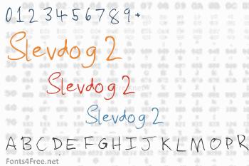 Slevdog 2 Font