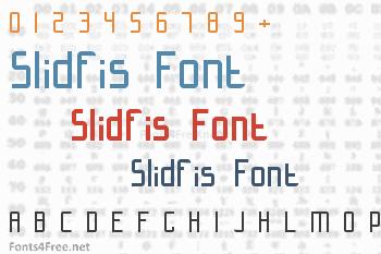 Slidfis Font