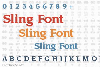 Sling Font