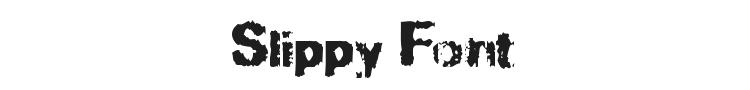 Slippy Font