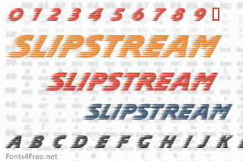 SlipStream Font