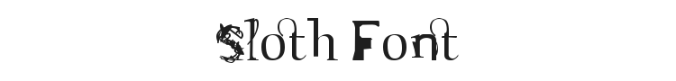 Sloth Font Preview
