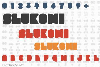 Slukoni Font