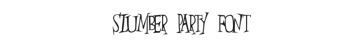 Slumber Party Font Preview