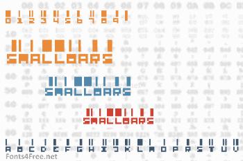 SmallBars Font