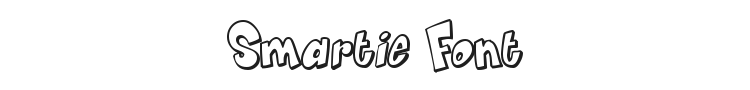 Smartie Font Preview