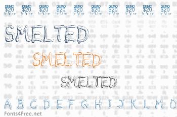 Smelted Font