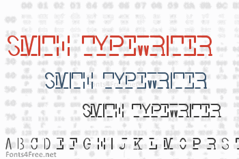 Smith Typewriter Font