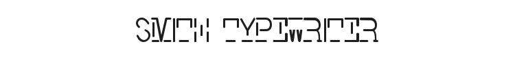Smith Typewriter Font