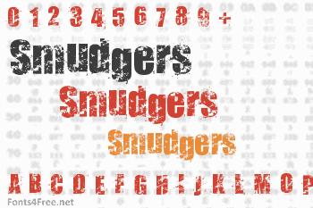 Smudgers Font