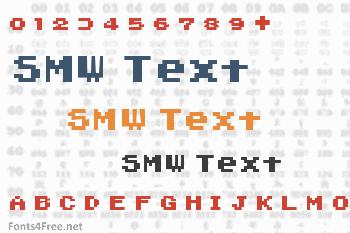 SMW Text Font
