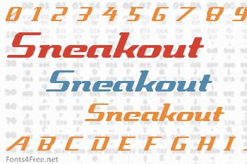 Sneakout Font