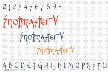 Snotmaster V Font