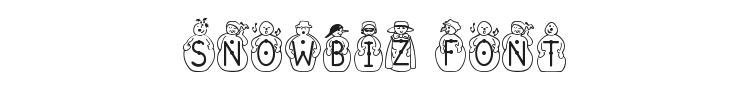 Snowbiz Font Preview