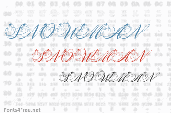 Snowman Citadel Font