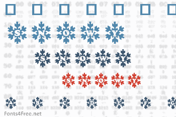 Snowy Caps Font