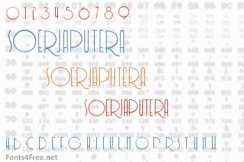Soerjaputera Font
