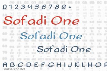 Sofadi One Font