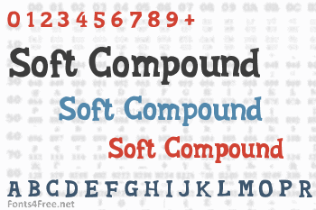 Soft Compound Font