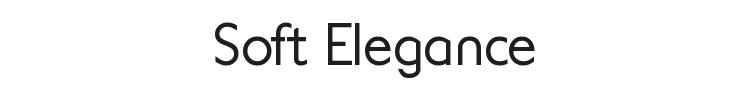 Soft Elegance Font Preview