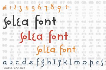 Solea Font