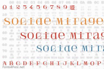 Solide Mirage Font