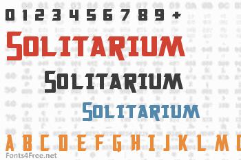 Solitarium Font