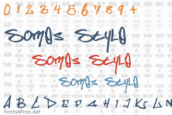 Somes Style Font