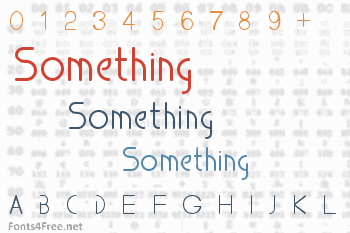 Something Font