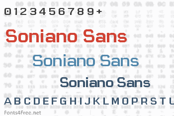Soniano Sans Unicode Font