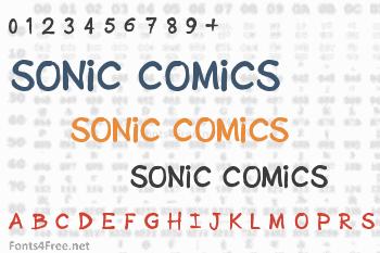 Sonic Comics Font