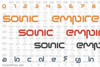Sonic Empire Font