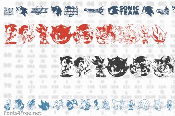 Sonic Mega Font