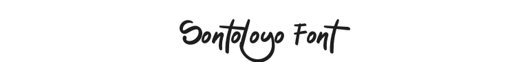 Sontoloyo Font Preview