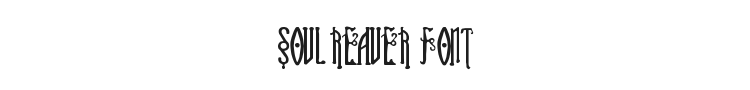 Soul Reaver Font Preview