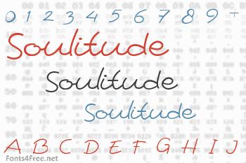 Soulitude Font