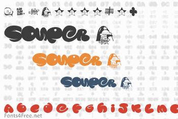 Souper 3 Font