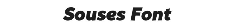 Souses Font