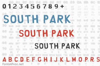 South Park Font
