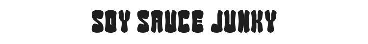 Soy Sauce Junky Font Preview