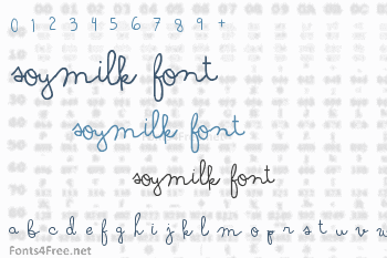 Soymilk Font